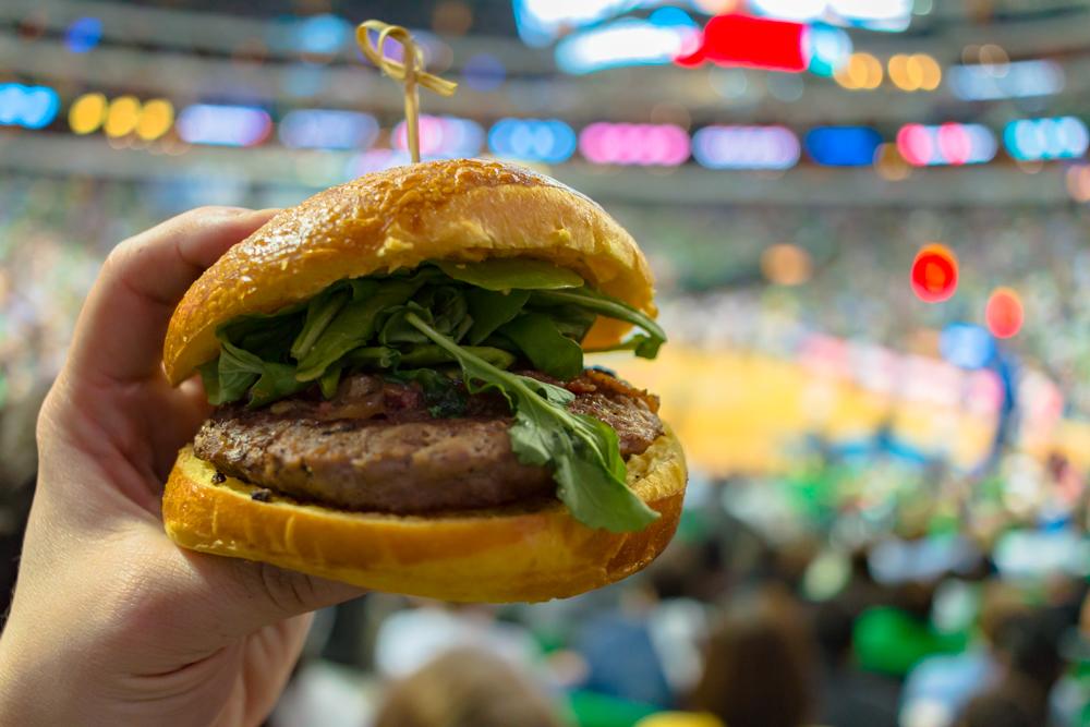 Dallas Mavericks Dirk Burger